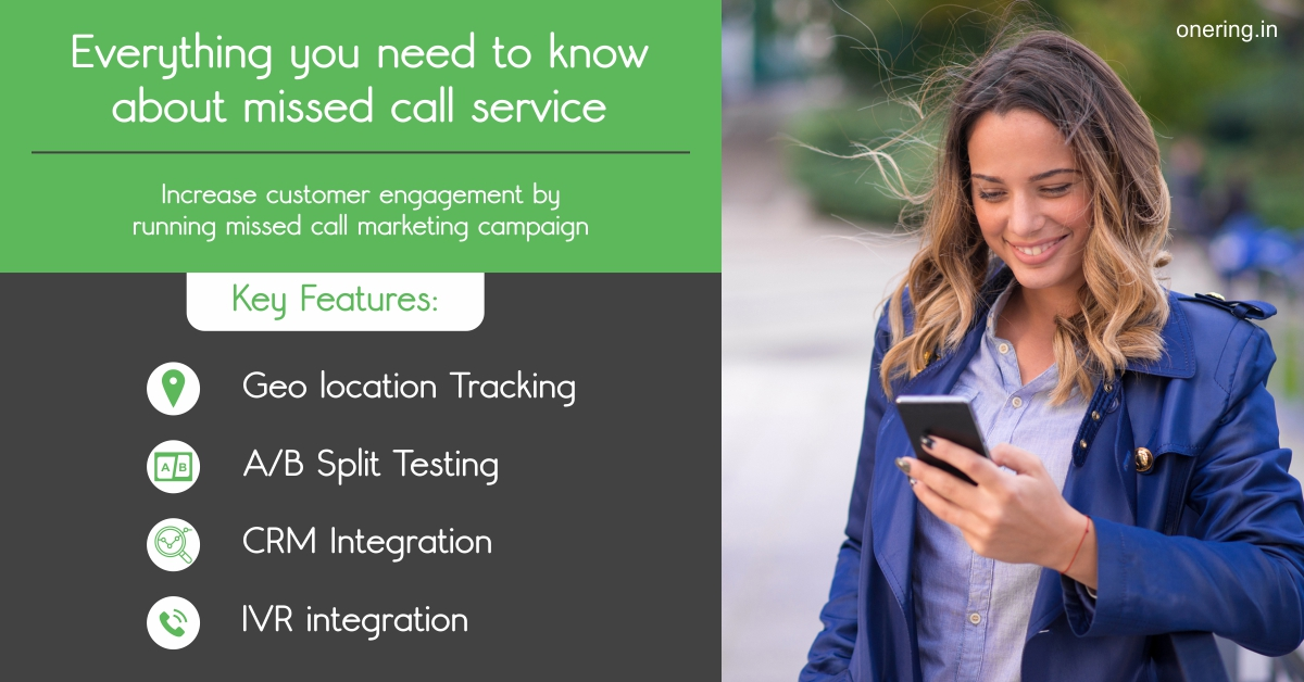Everything you need to know about missed call service